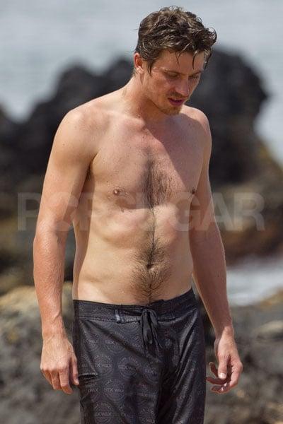 36. Garrett Hedlund | Celebrity Bikini and Shirtless