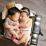 Romeo and Juliet Newborn Photo Shoot