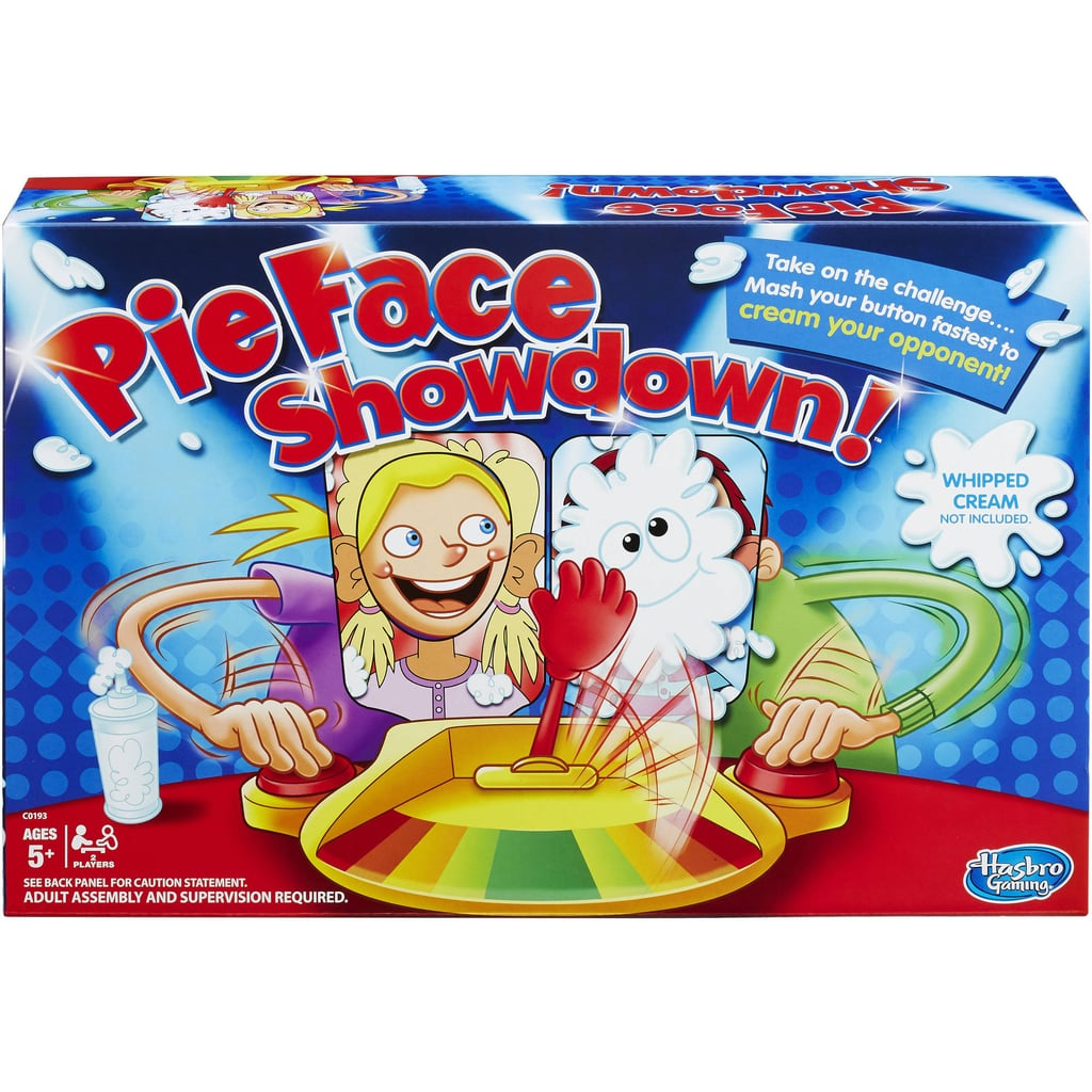 For 6-Year-Olds: Hasbro Pie Face Showdown Game