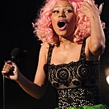 Nicki Minaj was shocked by her American Music Award win.