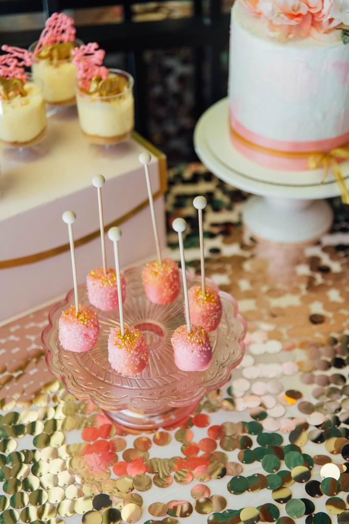 Faux Cake Pops