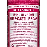 Dr. Bronner's 18-in-1 Hemp Rose Pure Castile Soap