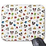 Mickey & Friends Emoji Pattern Mouse Pad