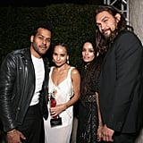 Jason and Lisa had a double date with Zoë and singer Twin Shadow at the InStyle Awards in October 2015.