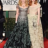Madonna and Andrea Riseborough