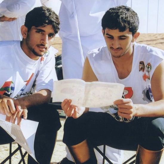 Sheikh Hamdan's Tribute to His Brother
