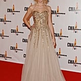 This modern-day princess was just missing her crown at the 2009 CMA Awards.
