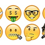 New emoji faces