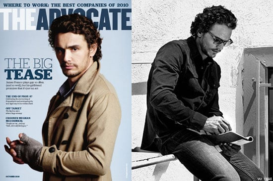 Pictures and Quotes From James Franco in The Advocate 2010-09-10 00:00:10