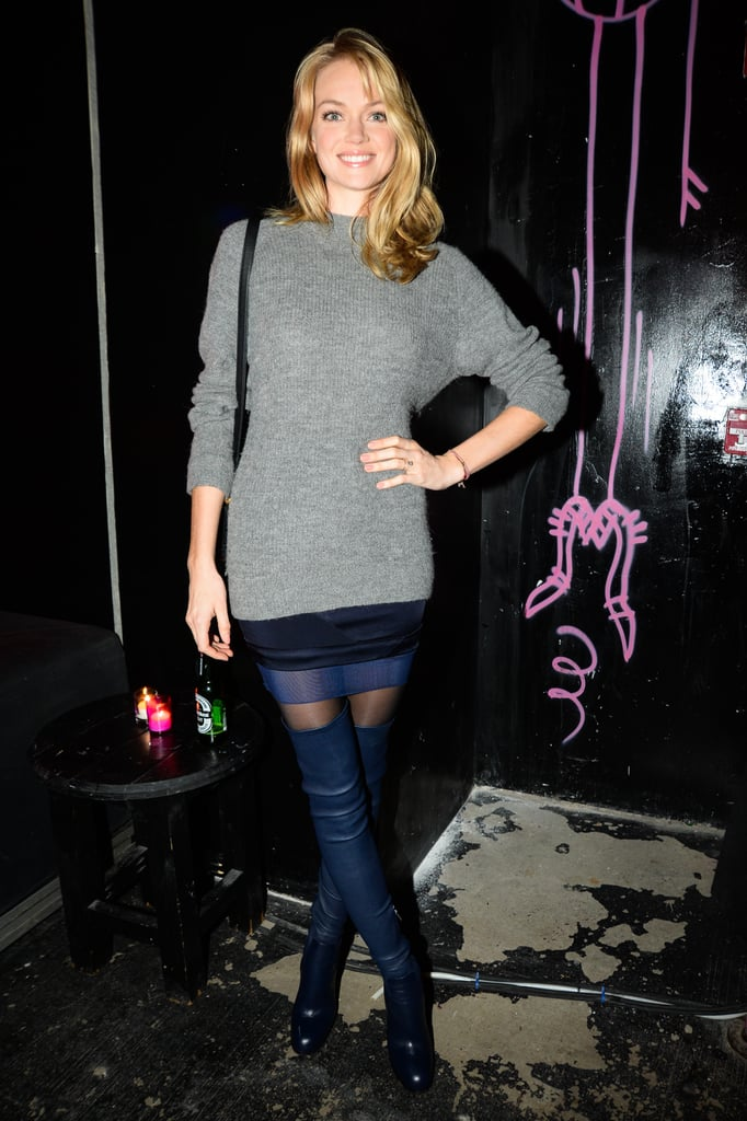 Lindsay Ellingson at Aldo Fights AIDS.