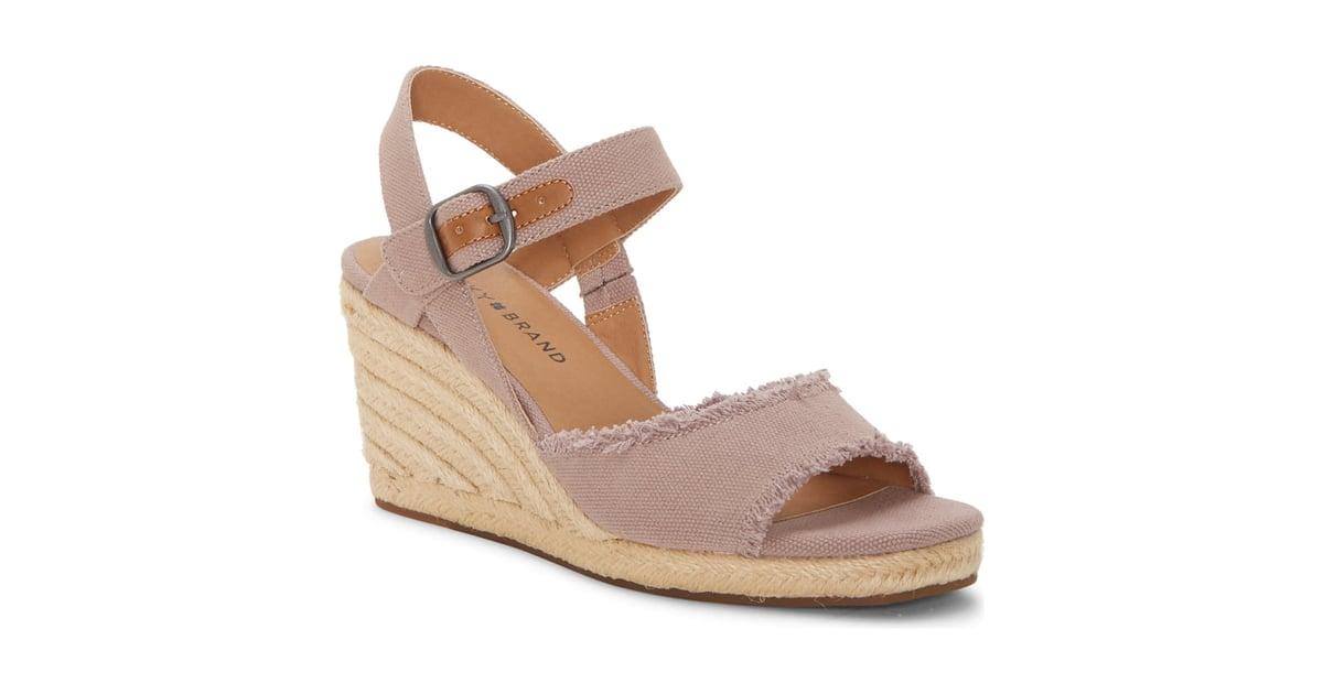 864dee1dcda Lucky Brand Mindra Espadrille Wedge Sandals | Best Wedge Sandals ...
