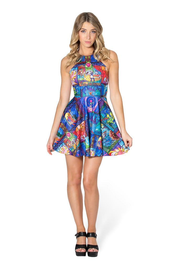 Tale as Old as Time Reversible Skater Dress ($90)