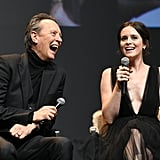 When He Joked With Claire Foy at the Santa Barbara International Film Festival