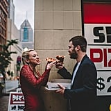 Pizza City Engagement Shoot