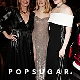 Meryl Streep, Saoirse Ronan, and Greta Gerwig at the 2020 Golden Globes