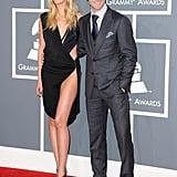 Adam Levine and Anne Vyalitsyna
