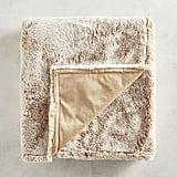 Pier 1 Imports Faux Fur Lynx Throw
