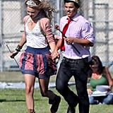 Photos of Taylor Lautner and Taylor Swift