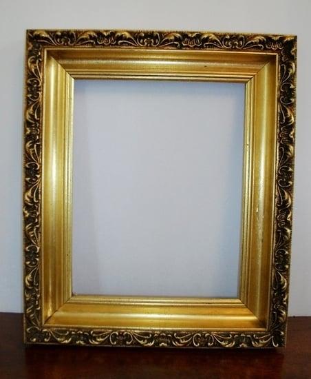 Vintage Gilded Gold Frame No 2 by lakesidecottage on Etsy