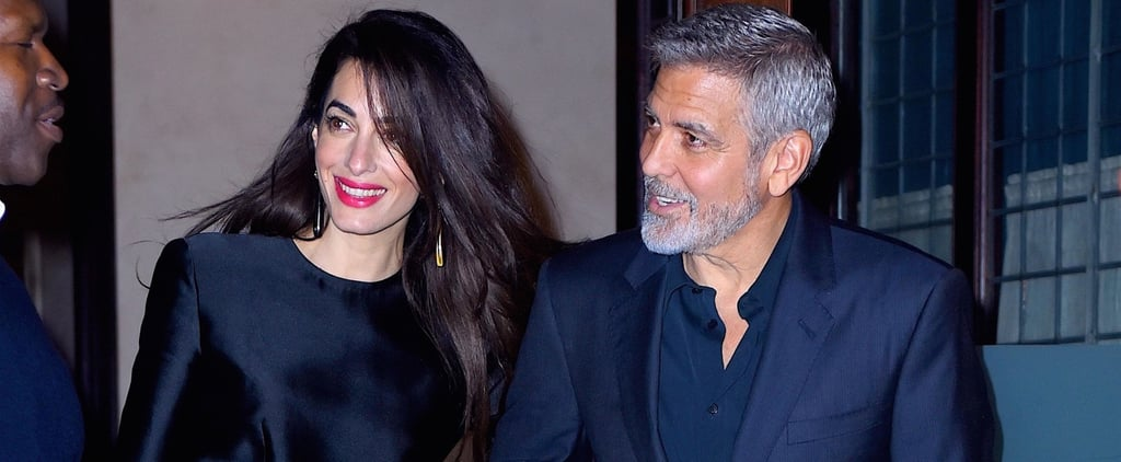 George and Amal Clooney Out in NYC For His Birthday May 2018