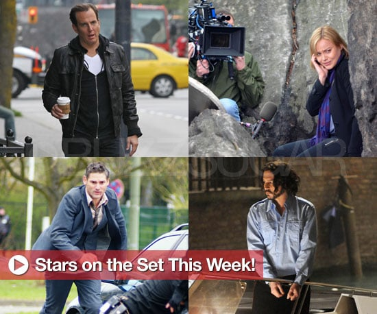 Pictures of Johnny Depp and Angelina Jolie, Abbie Cornish and Ryan Phillippe Filming