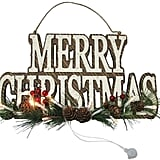 Merry Christmas LED Wall Decor