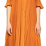 Self-Portrait Pleated Cold Shoulder Gown ($675)