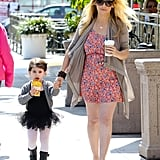 Sarah Michelle Gellar's Coffee-Stop Look