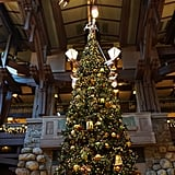 Nothing will put you in the spirit like the lobby of Disney's Grand Californian Hotel & Spa in Downtown Disney.