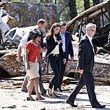 Kate Middleton and Prince William visit fire-damaged Alberta.