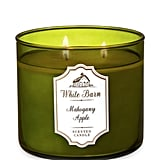 Mahogany Apple Three-Wick Candle