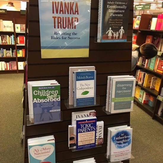 Ivanka Trump Book Display Prank
