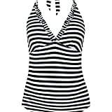 Topshop Stripe Swimsuit