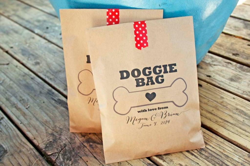 Wedding Favor Doggy Bags