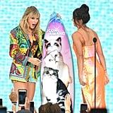 Taylor Swift and Alex Morgan at the Teen Choice Awards 2019
