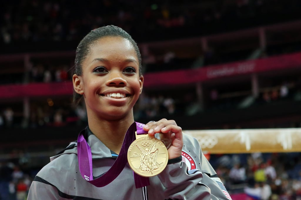 """My message is to never quit, never give up. When you have a little trouble here and there, just keep fighting. In the end, it will pay off."" — Gabby Douglas on staying committed to her goals"
