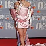 Anne-Marie at the 2020 BRIT Awards in London
