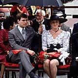 Prince Andrew and Sarah, Duchess of York, 1988