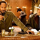 Jamie Foxx and Franco Nero in Django Unchained.