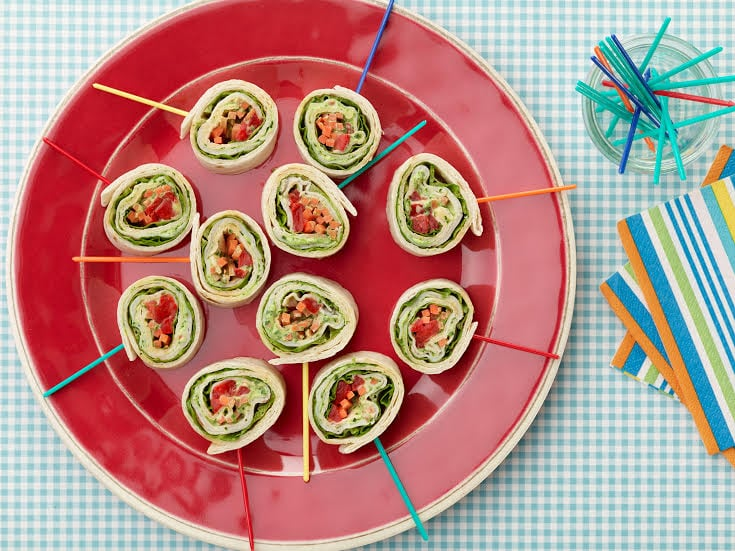 Pinwheel Recipe | 31 Easy Dinner Recipes for Kids to Make on Mother's Day