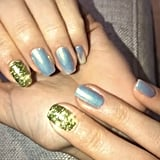 Kendall Jenner's Flower Manicure