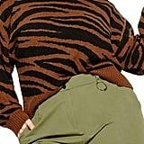 City Chic Sassy Tiger Sweater