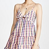 English Factory Gingham Mini Dress