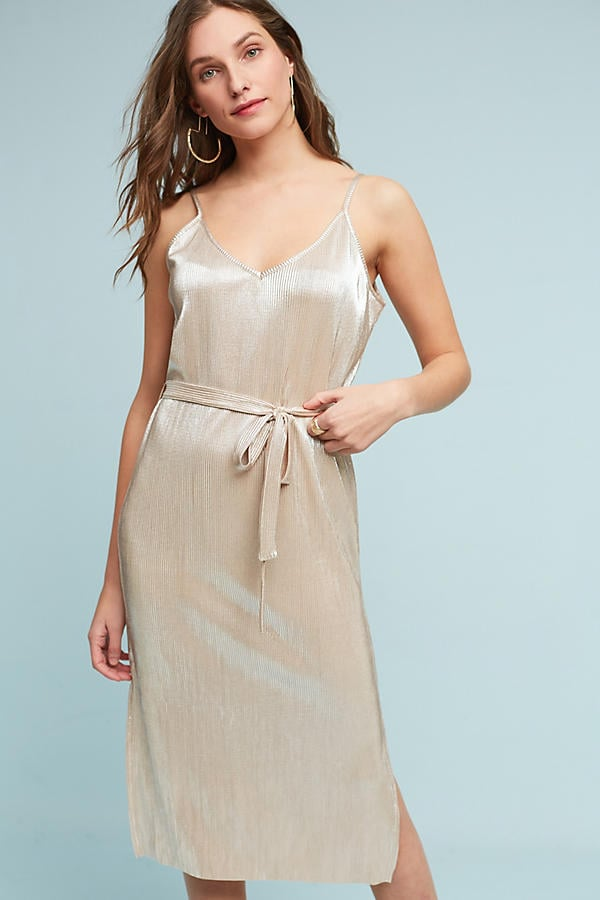 Storm & Marie Metallic Slip Dress
