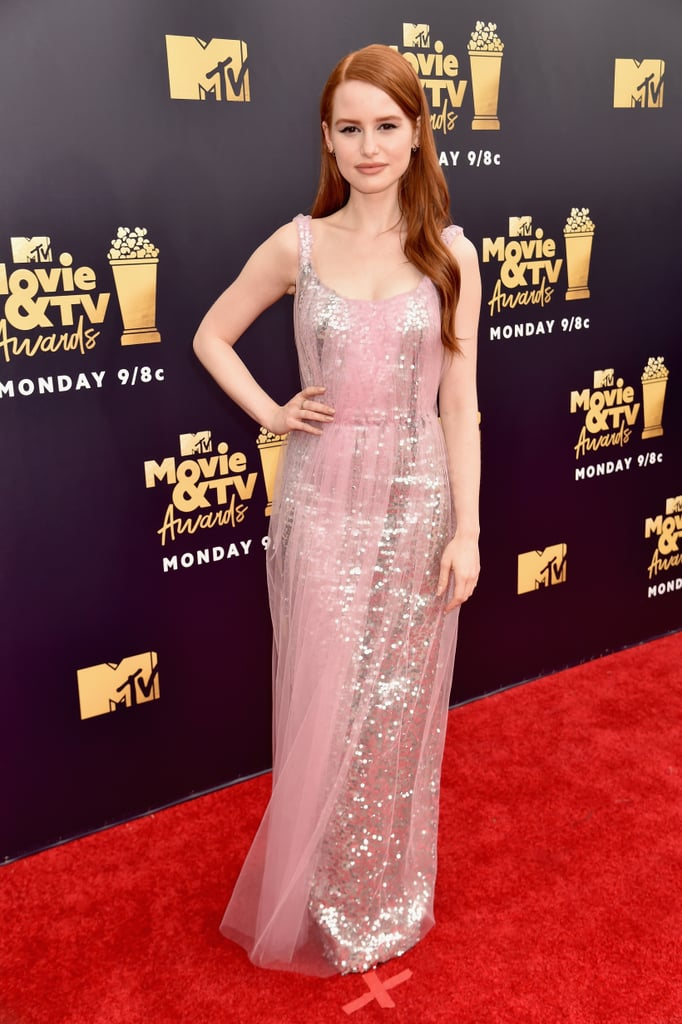 Madelaine Petsch at the 2018 MTV Movie and TV Awards