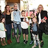 Gwen Stefani and Blake Shelton at Angry Birds LA Premiere