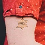 Sheriff Temporary Tattoos