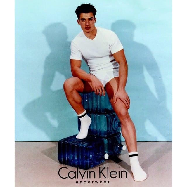 Antonio Sabàto Jr. in a 1996 Calvin Klein Ad
