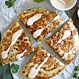 Black Bean Butternut Squash Quesadillas
