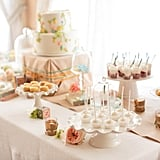 The Dessert Table Up Close